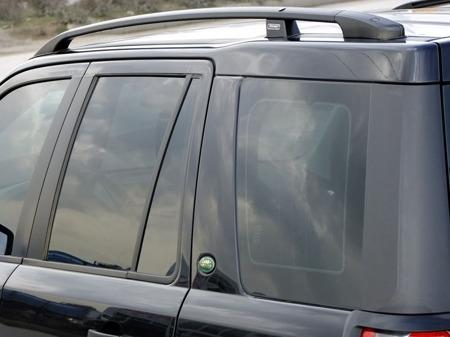 Рейлинги для Land Rover Freelander 2 с 2007 - черные, алюм. опоры ...
